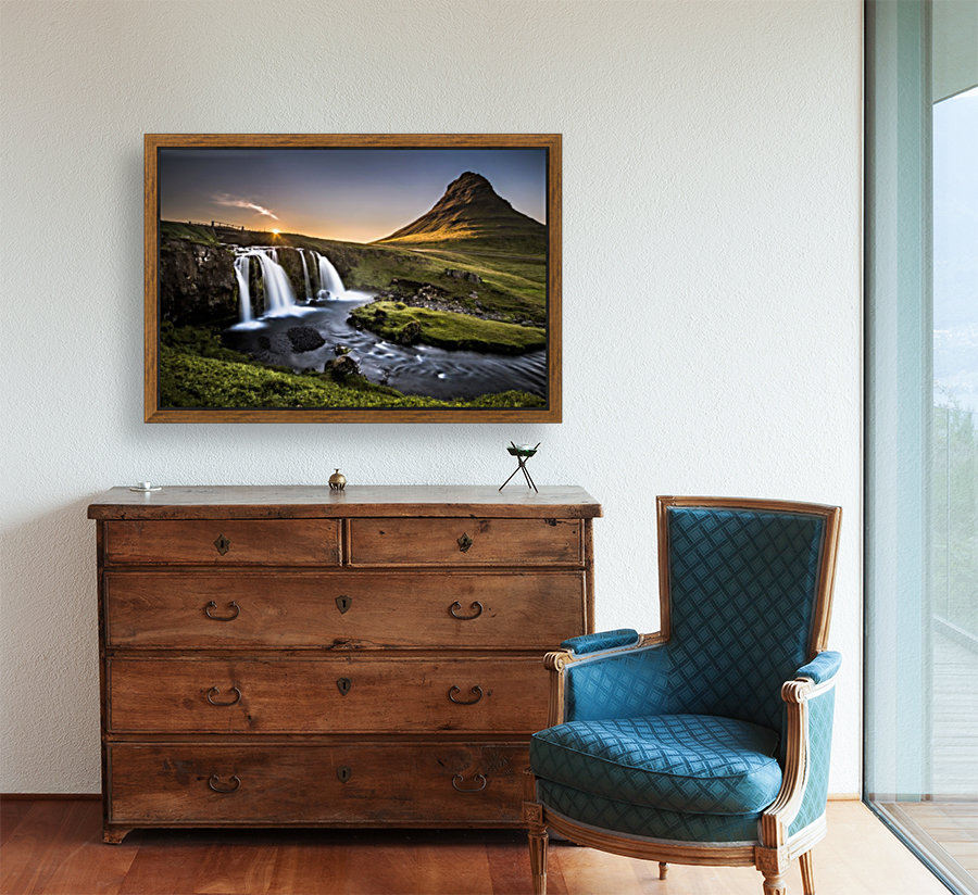 Fairy-Tale Countryside in Iceland  Art
