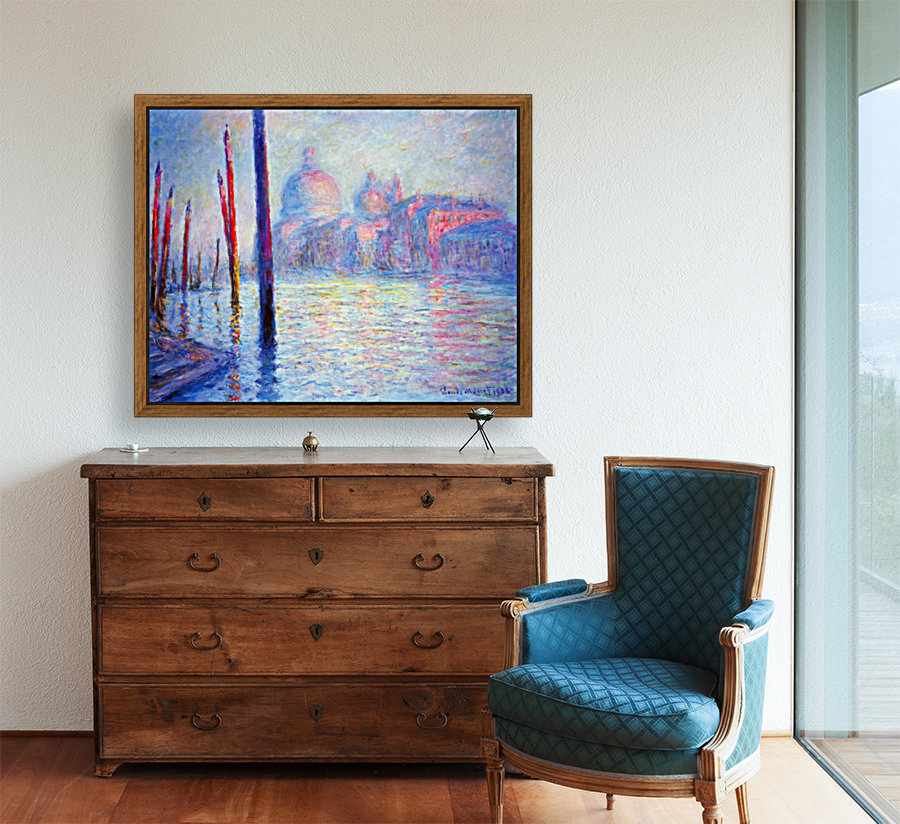 Canal Grand by Monet  Art