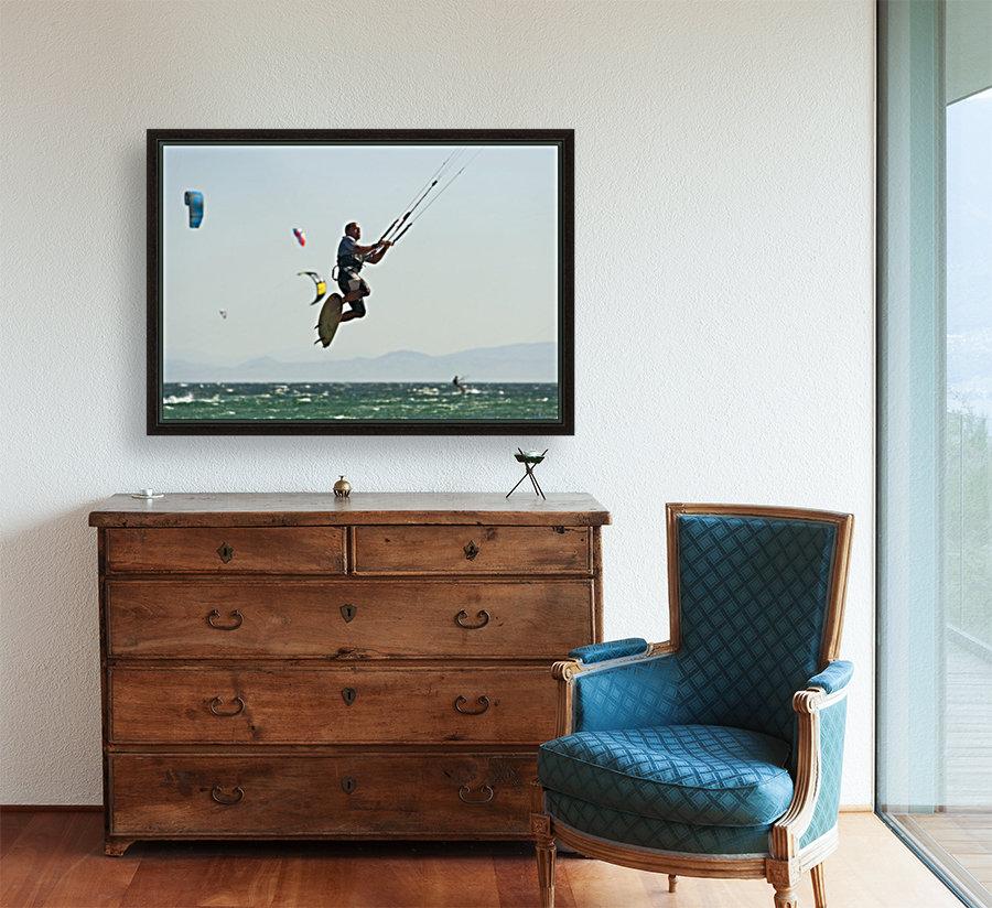 Kitesurfing; Tarifa, Cadiz, Andalusia, Spain  Art