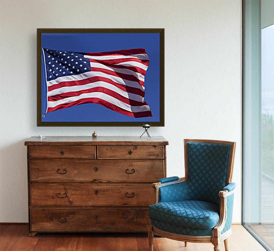 American Flag; Pahreah, Utah, United States of America  Art