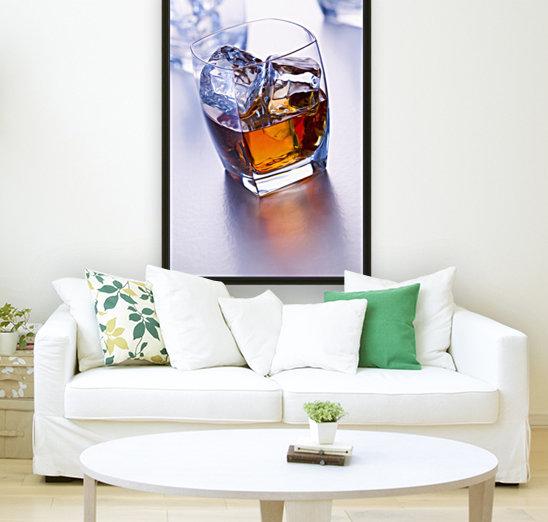 Glass of whiskey  Art