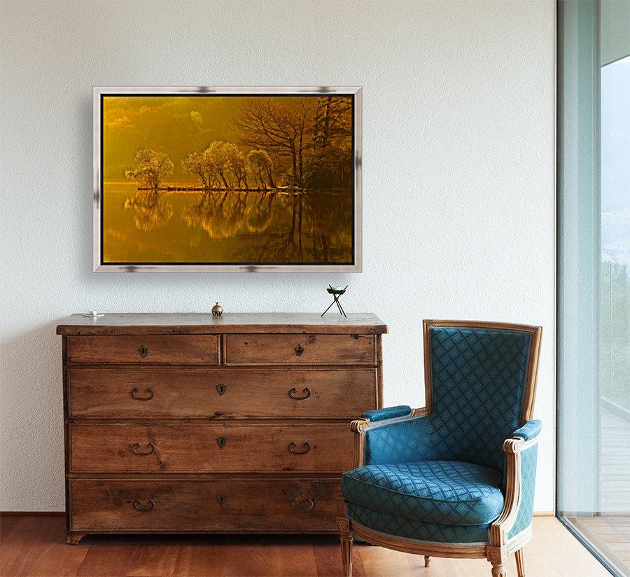 Gold Morning, Lake District, UK  Art
