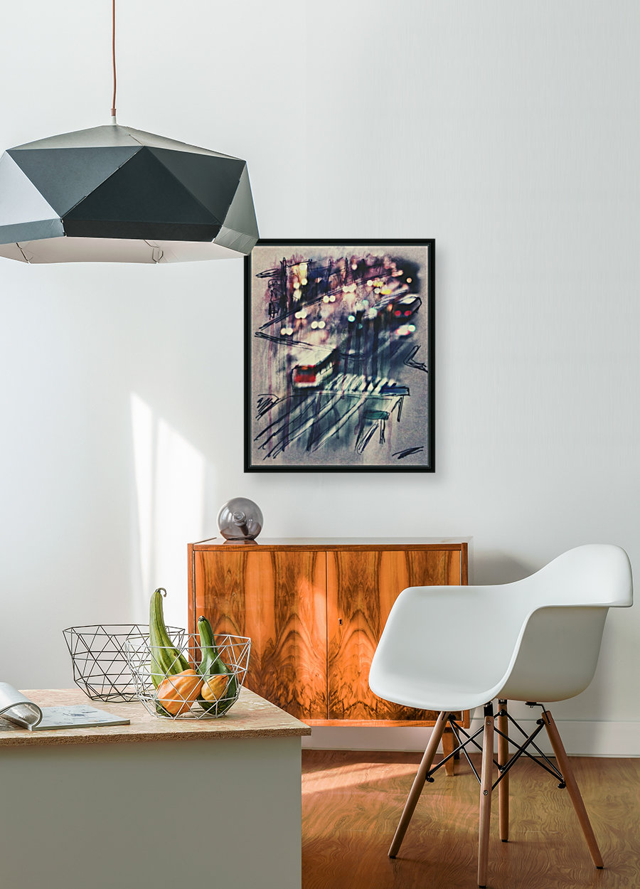 Cityscape Serie with Floating Frame