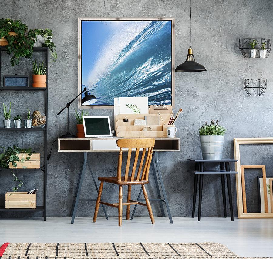 Blue Ocean Wave  Art