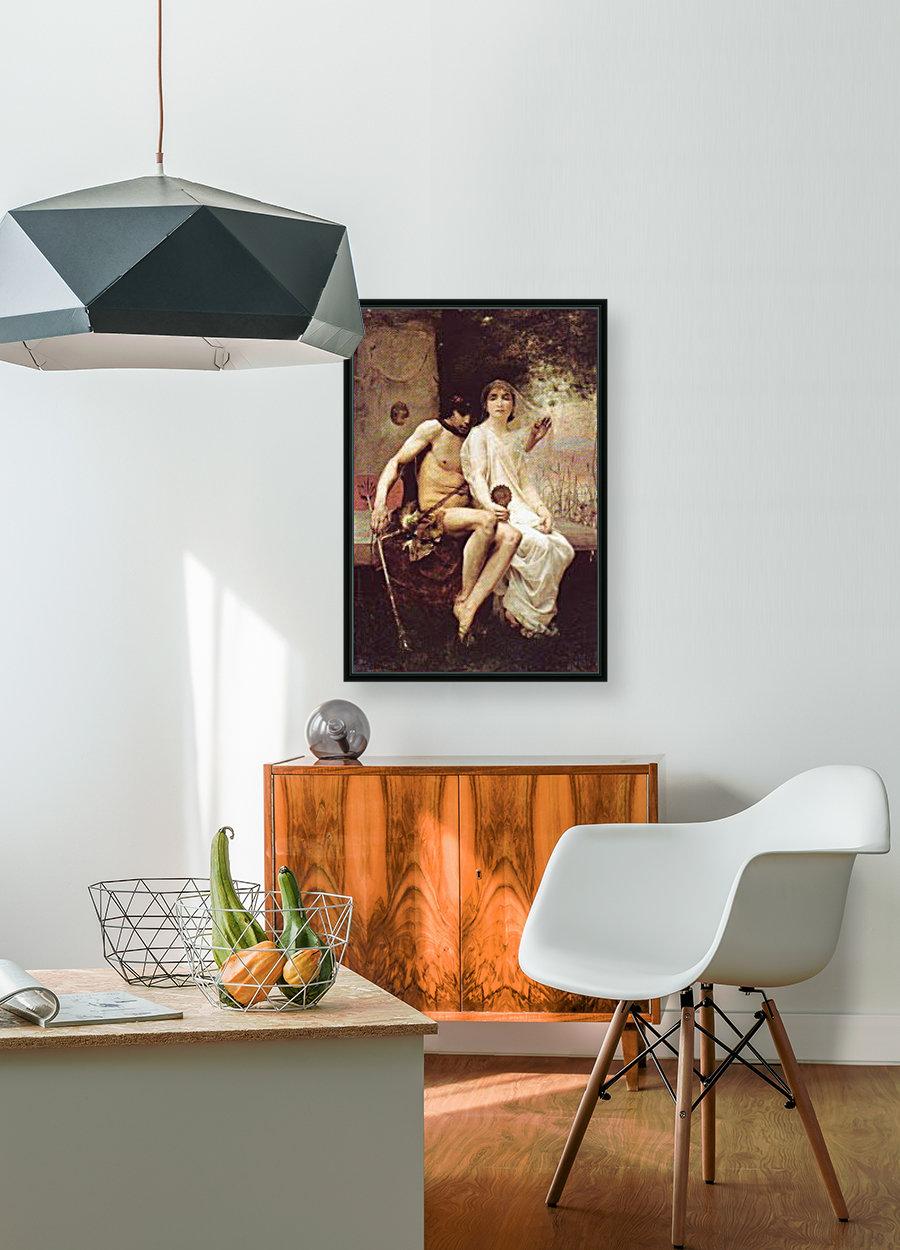 Lycenion et Daphnis  Art
