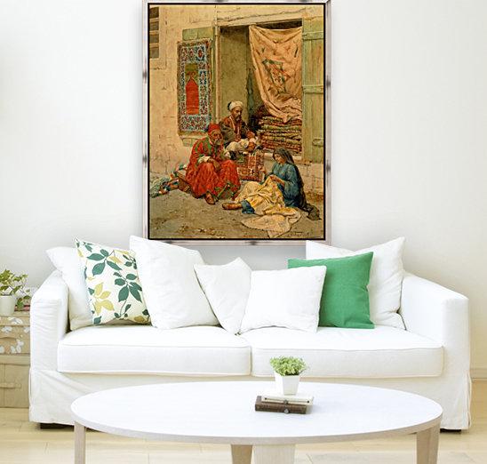 Carpet seller  Art
