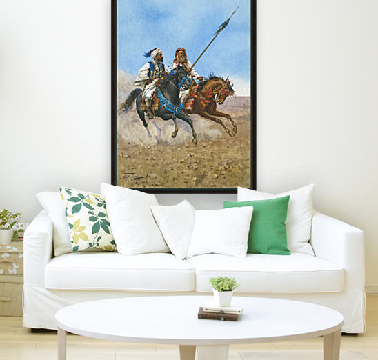 Arab riders with Floating Frame