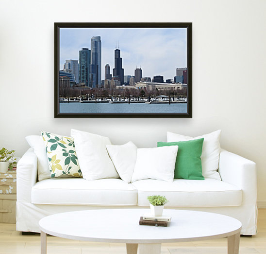 View of Chicago From Northerly Island VP2  Art