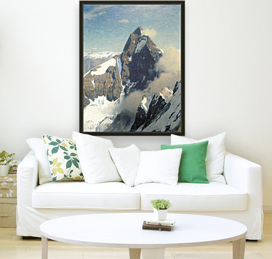 Das Matterhorn von Westen with Floating Frame