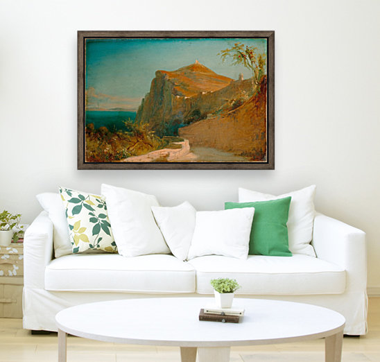 Tiberiusfelsen auf Capri  Art