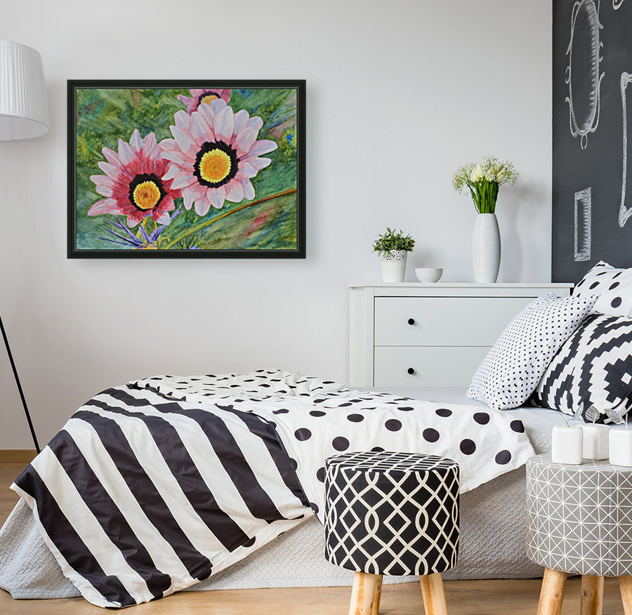 Two Daisies  Art
