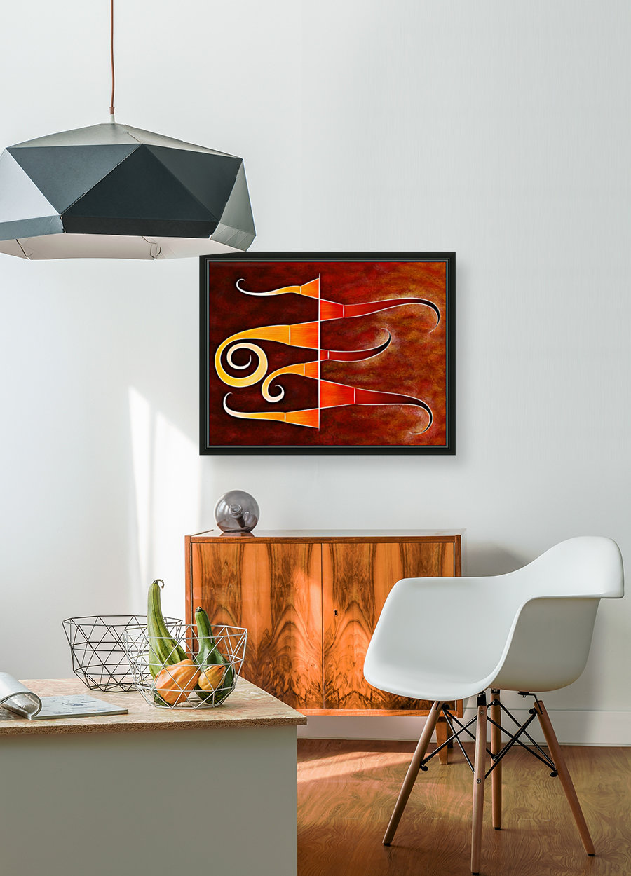 Cassanita sol - martian bird  Art