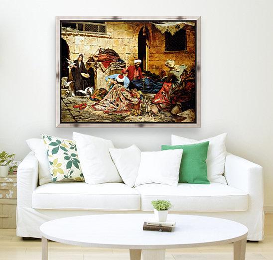 Carpet menders - Francesco Ballesio Canvas