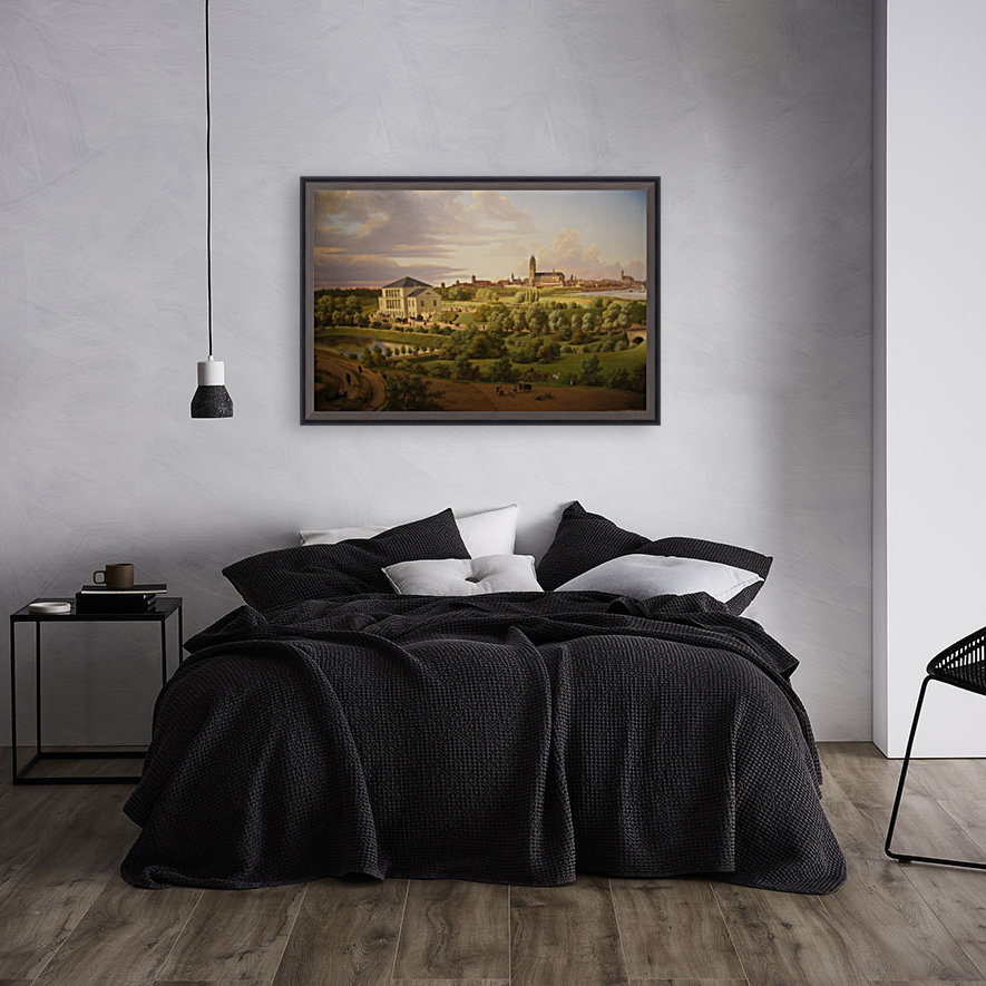 Magdeburg 1831 with Floating Frame