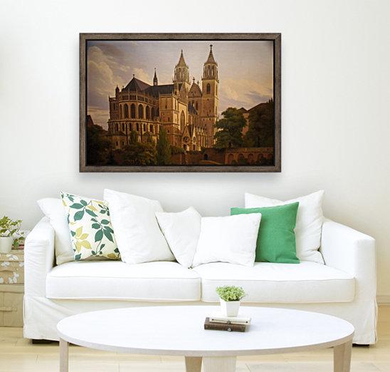 Magdeburger Dom 1828  Art