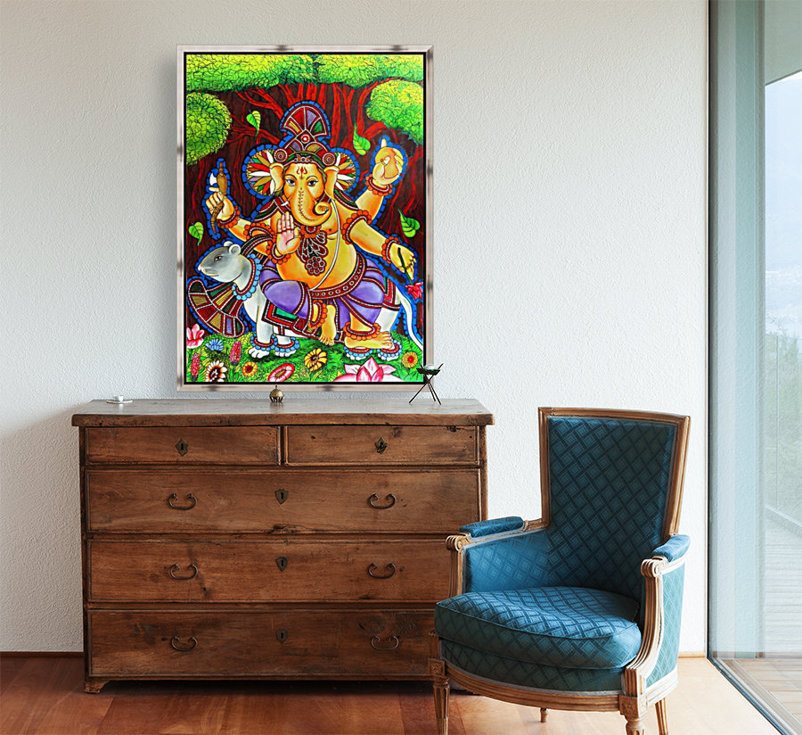 GANAPATHY MURAL  Art