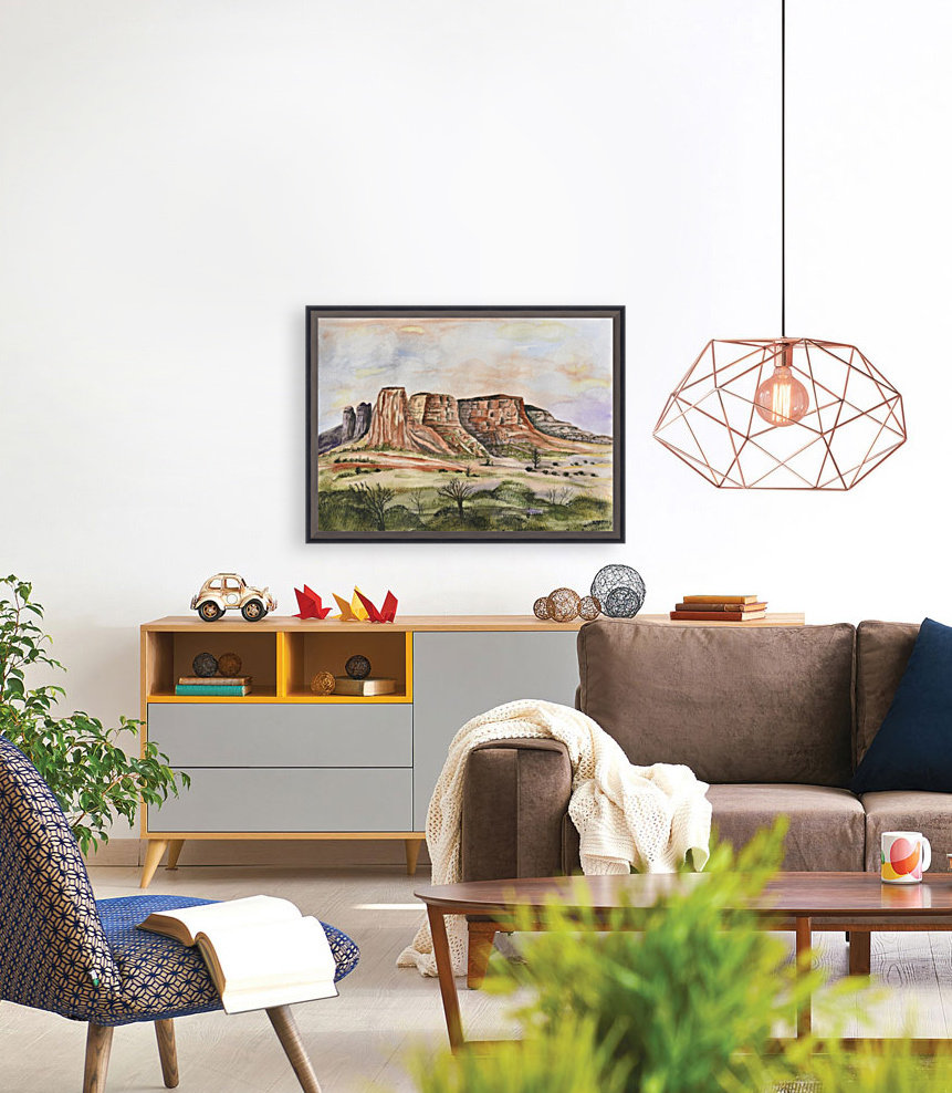 Buttes of Sedona   Art
