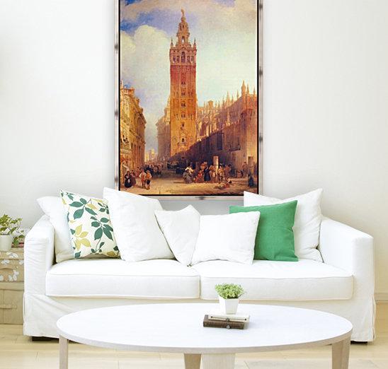 The Moorish Tower at Seville, called the Giralda  Art