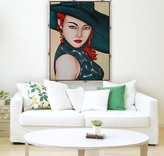 Red beauty  Art