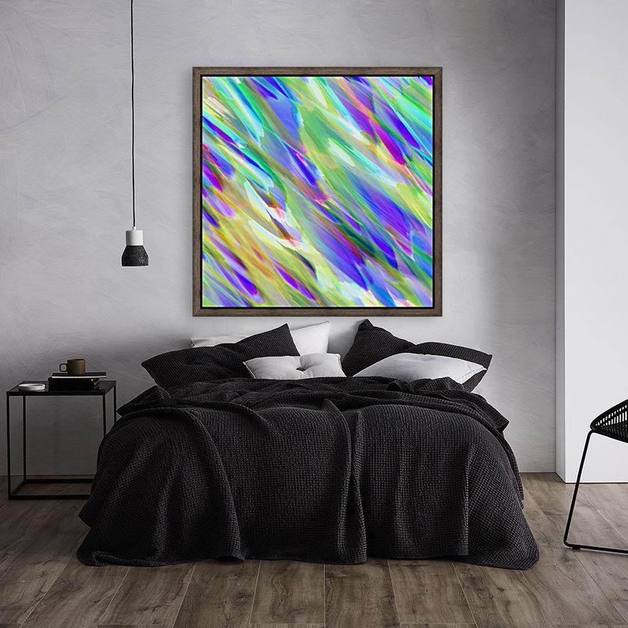 Colorful digital art splashing G401  Art
