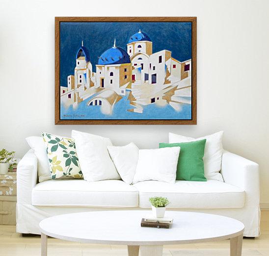 Memory of Santorini  Art