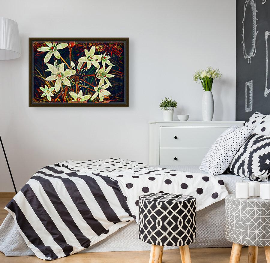 WhiteDarkWallflowers  Art