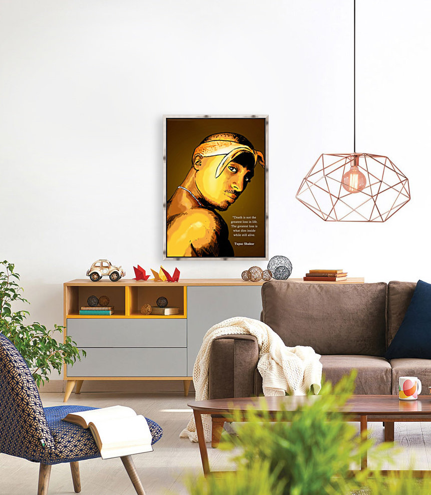 Tupac with Floating Frame