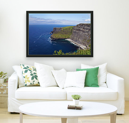 Cliffs of Moher, Ireland with Floating Frame