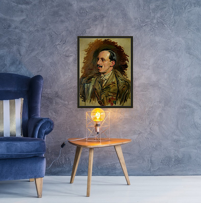 Jose Moreno Carbonero Selfportrait  Art