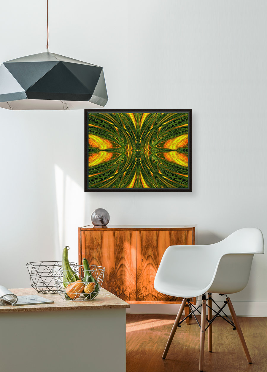 Green Mystical Butterfly 1  Art