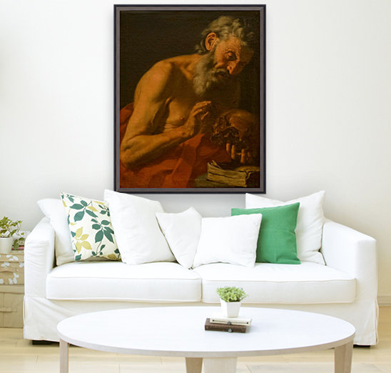 San Girolamo with Floating Frame