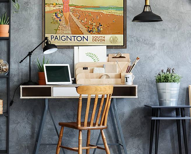 Paignton South Devon Vintage Poster