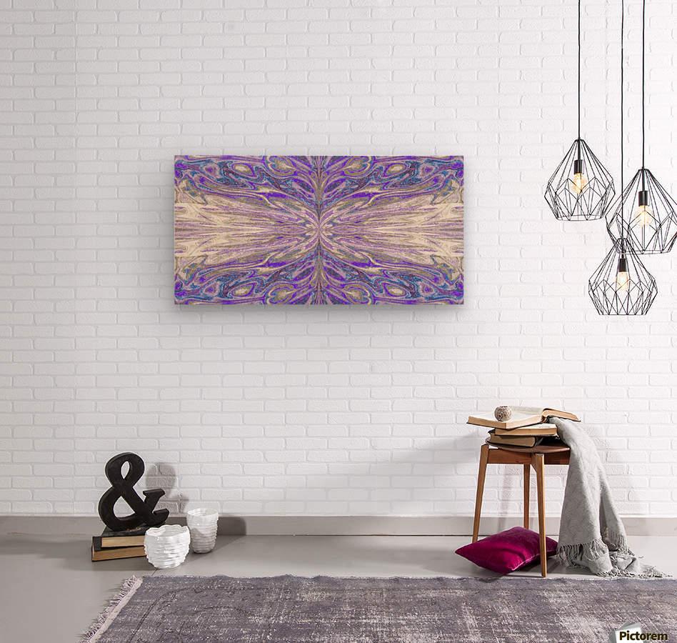 Queen of the Butterflies 56  Wood print