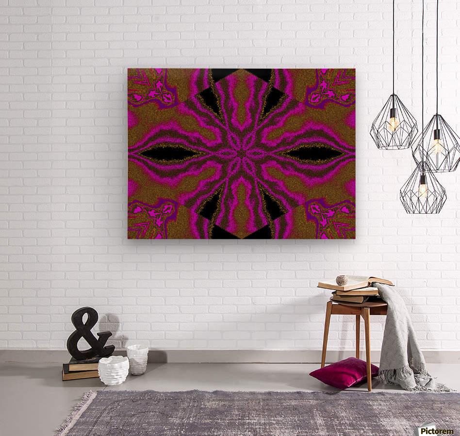 A Flower 3  Wood print