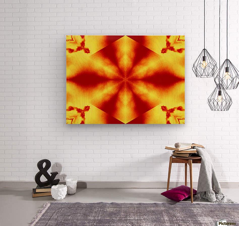 A Flower 12  Wood print