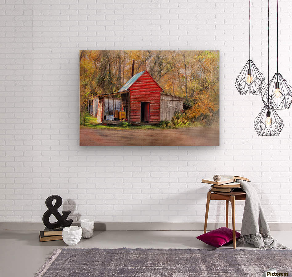 Country Store in the Woods - Susan Werby Canvas