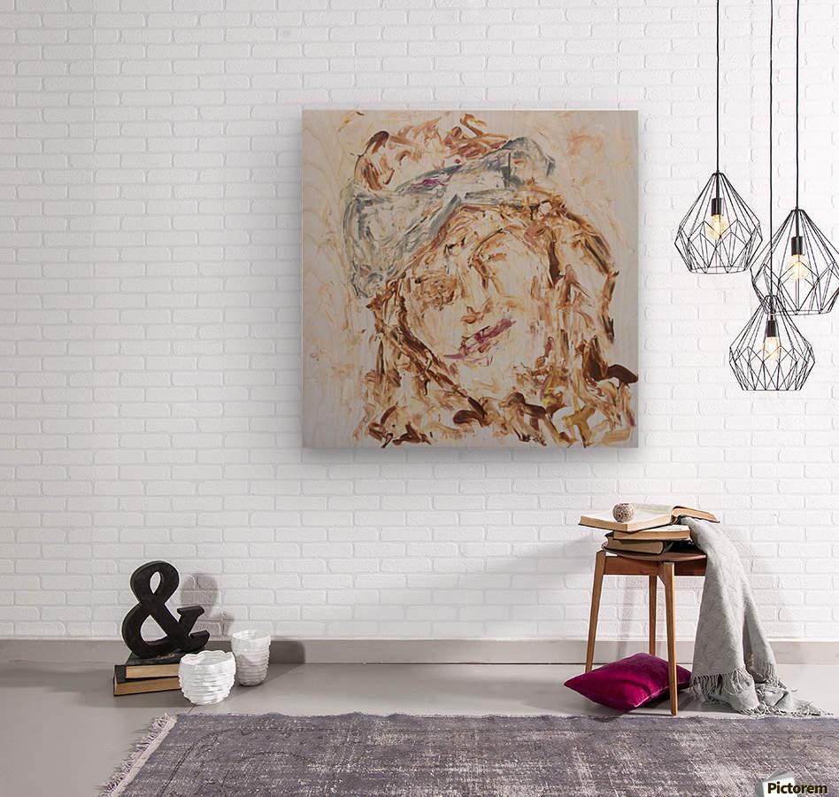 Samarah  Wood print