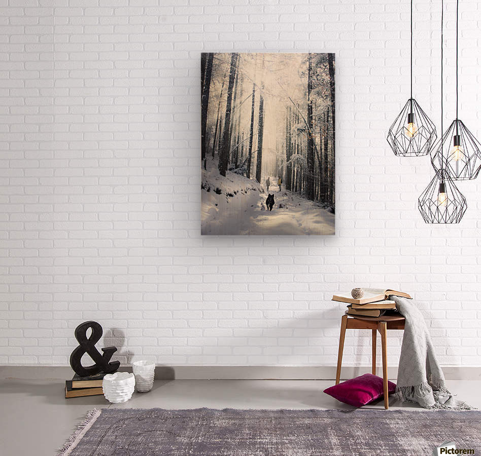 Explore nature  Wood print