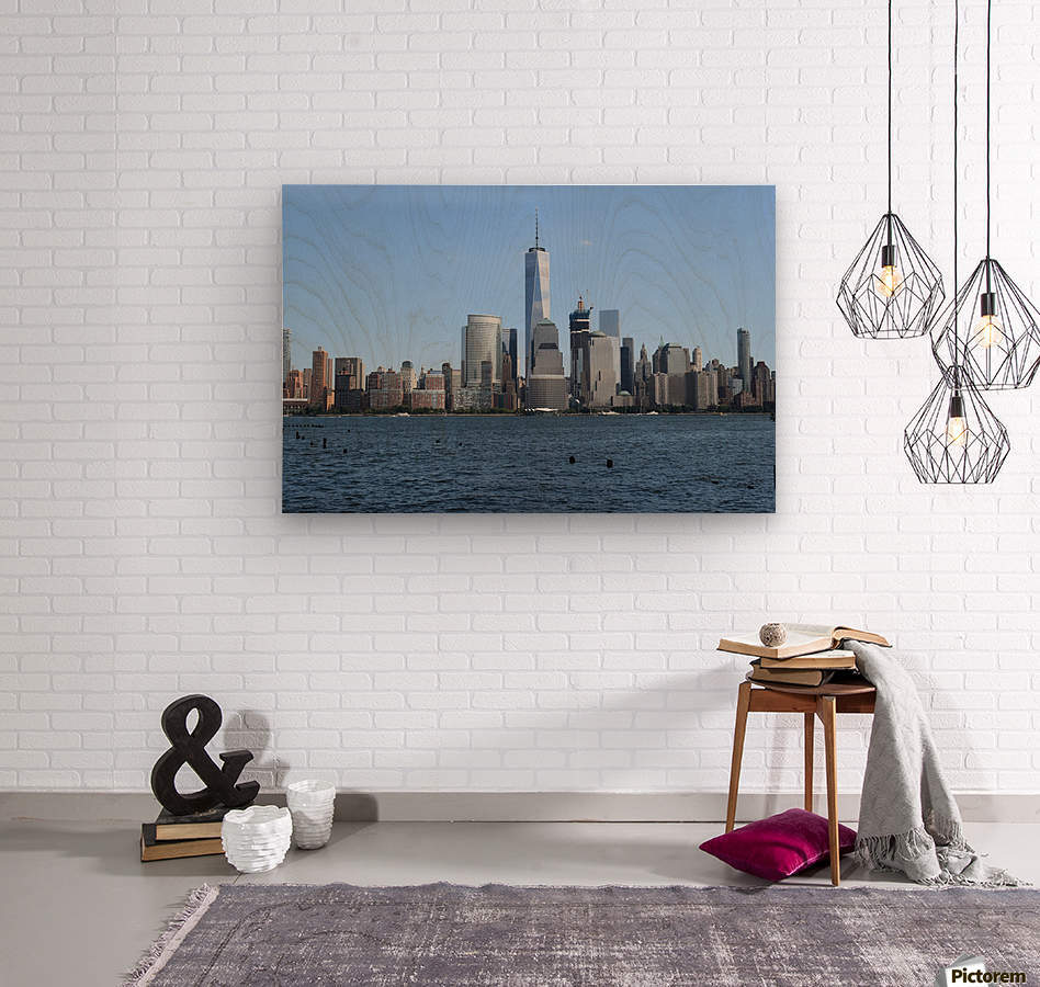 MANHATTAN, NEW YORK  Wood print