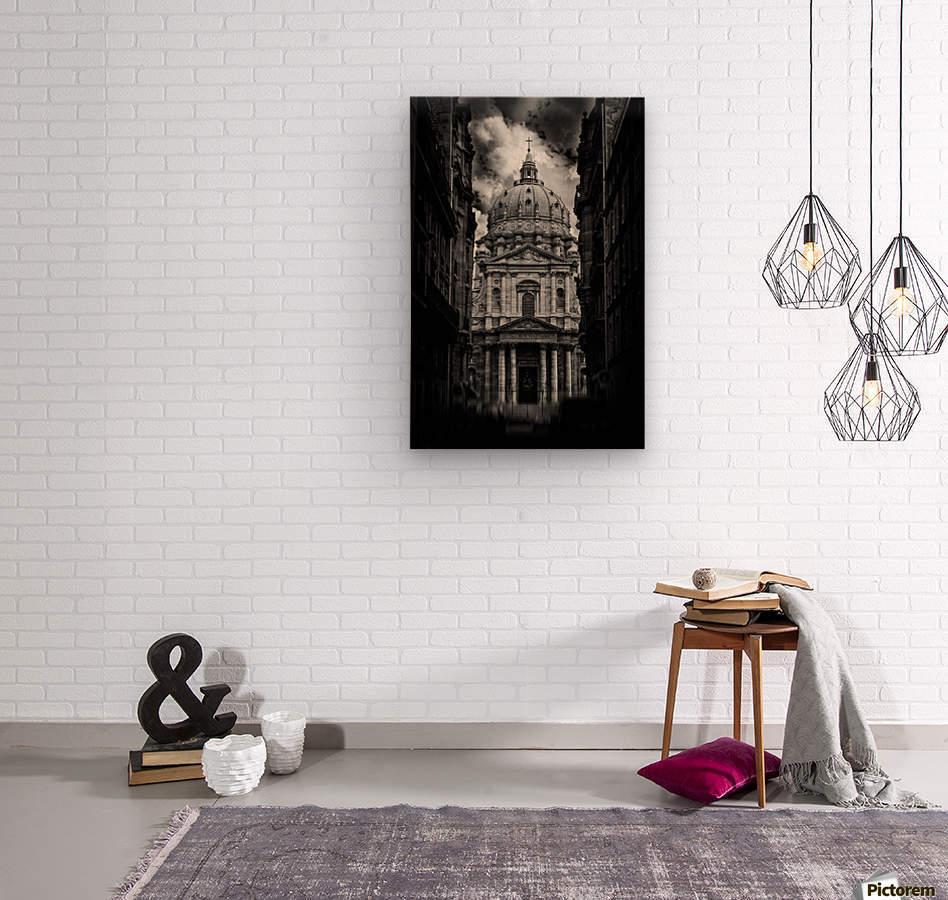 PARIS or ROMA   Wood print