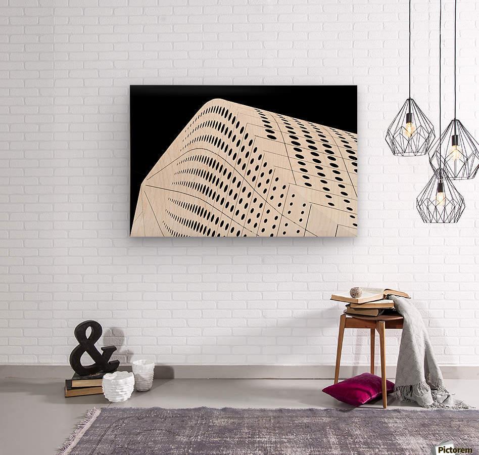 Advent Calendar  Wood print