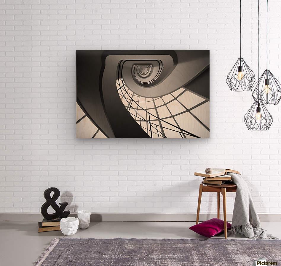 BELL I  Wood print