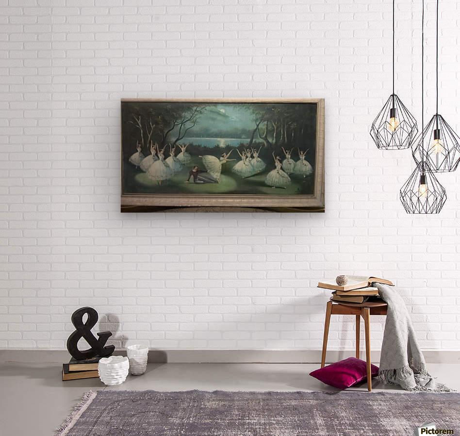 Dancing in moon lights  Impression sur bois