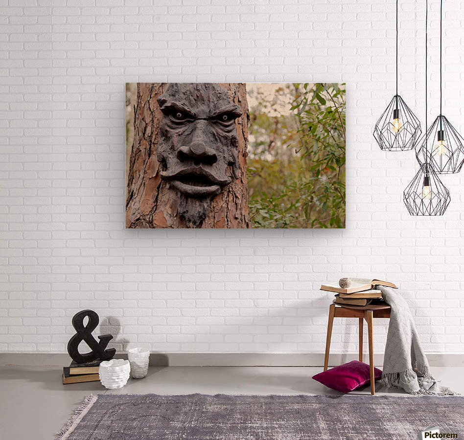 The Animated Forest  Wood print