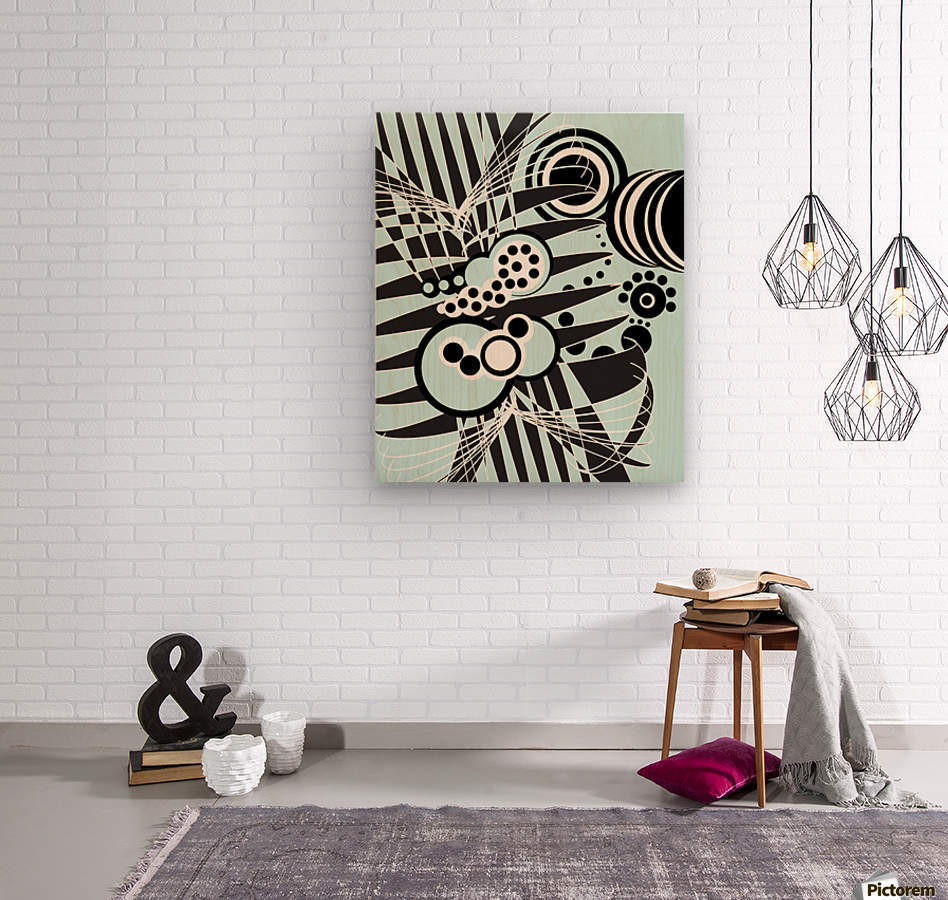 Emotions of an Artist  Wood print