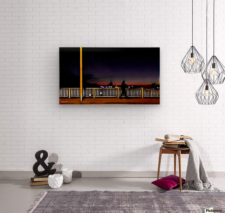 Colognetrip  Wood print