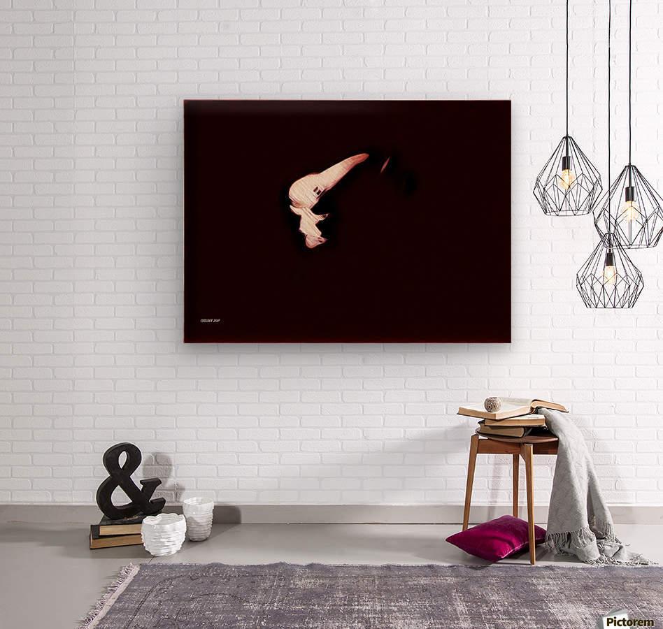 Brüste  Wood print