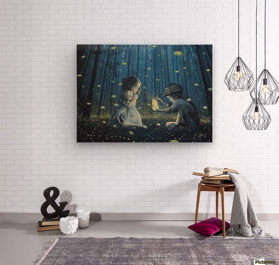 The Magic Lantern  Wood print