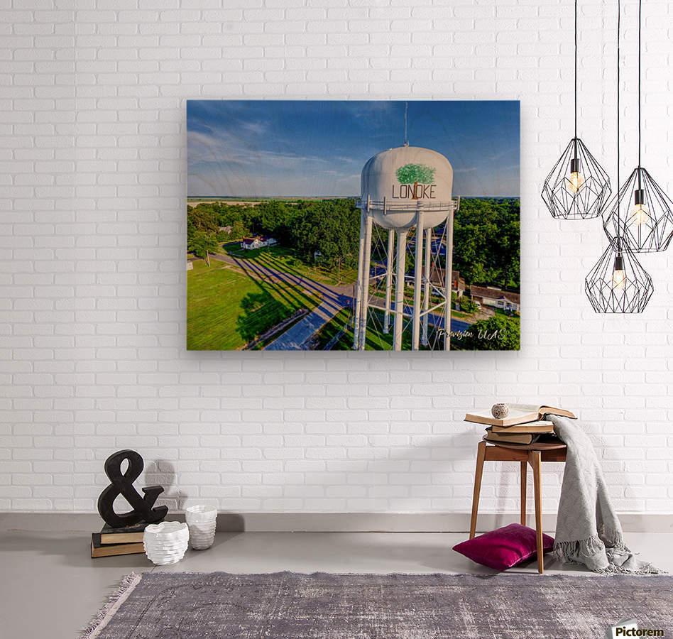 Lonoke, AR | Water Tower  Wood print