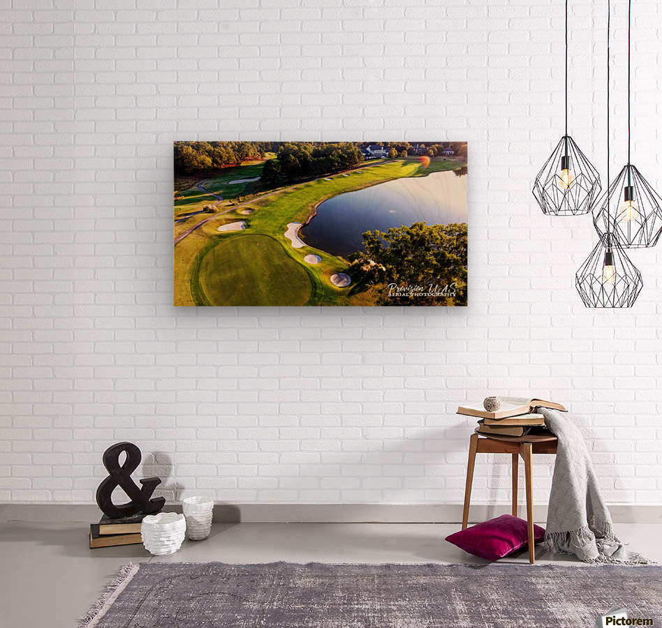 Westpoint, MS | The 18th Hole  Wood print